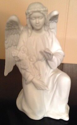 Homco White Nativity Angel