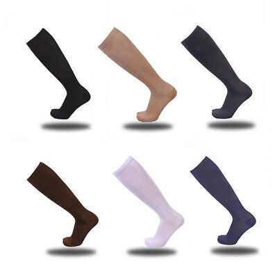Flight Travel Socks Unisex Compression Anti Swelling DVT Support Men Women Warm
