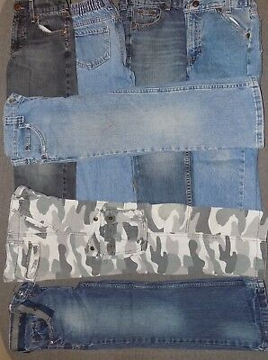 Boys Size 7 Assorted Brand Jeans Lot