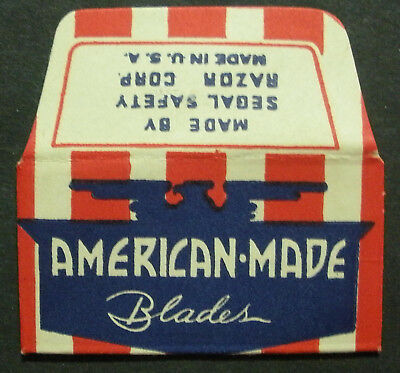 Vintage Made in USA Razor Blade AMERICAN MADE