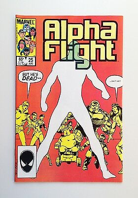 Alpha Flight #25 (Aug 1985, Marvel)