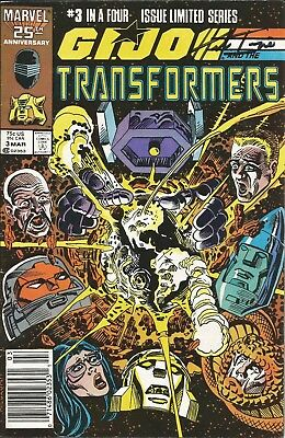 G. I. Joe and the Transformers #3 SIGNED by Herb Trimpe!!!  With C.O.A.!!