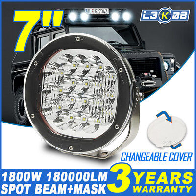 7inch 540W CREE LED Driving Work Light Headlight Spot Lamp Offroad Truck 4WD 9""