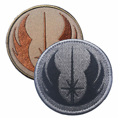 Star Wars Jedi Tacitical 3D Army TAC Embroidered Morale Badge Patch Hot