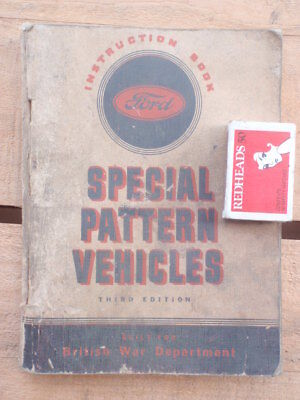 Ford Military Special Pattern Vehicles  Handbook 200 pages