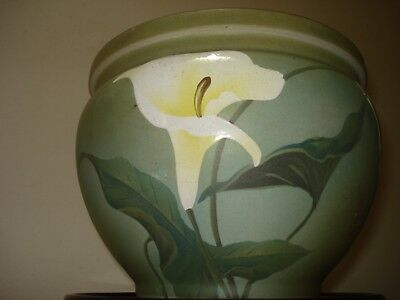 Antique Jardiniere Art Nouveau Pottery Ceramic Plant Holder