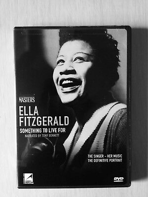 Ella Fitzgerald DVD Something to live for