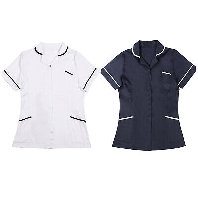 Ladies Tunic Nurses Uniform Salon Vet Beauty Healthcare Medical Dental Therapist