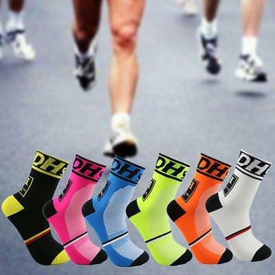 Unsex Riding Cycling Sport Socks Men Women Breathable Bicycle Footwear Outdoor