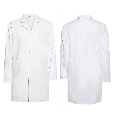 Lab Coat Laboratory Warehouse Medical Doctor Technician Food Hygiene New