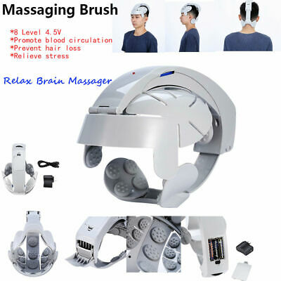 Head Relax Massage Helmet Electric Eye Neck Massager Pain Relief Relaxing