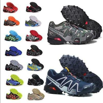 MEN'S Fashion Speedcross 3 Running Outdoor climb Shoes Athletic Running Shoes