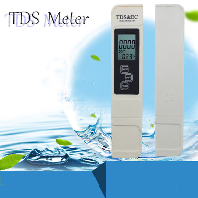 TDS Device Testing Meter Digital Water Purity Monitor PH Level Test Paper Lab