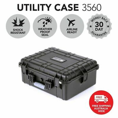 HD Series Utility Hard Case for Cameras & Drones - Black