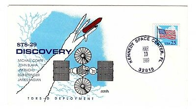 Shuttle 29 Kennedy Space Center Launch Souvenir Envelope + INSERT