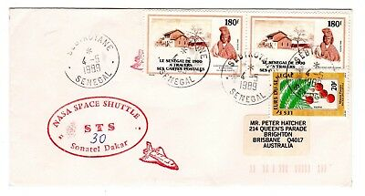 Shuttle 30 NASA Senegal Tracking & Support Souvenir Envelope