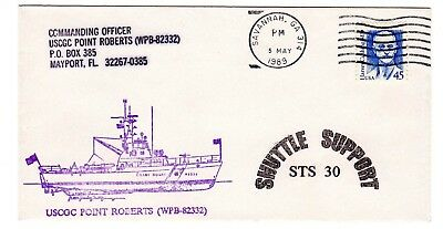 Shuttle 30 USCGC Point Roberts Rescue Support Souvenir Envelope