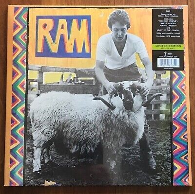 Paul McCartney & Wings set of 8 limited edition 2017 coloured vinyl LPs NEW/SEAL