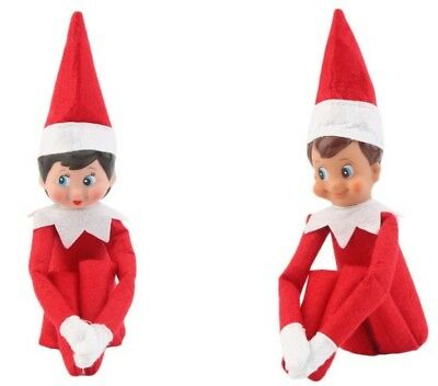 Red Elf Boy or Girl with Book Fast Shipping Aussie Seller In Stock Christmas