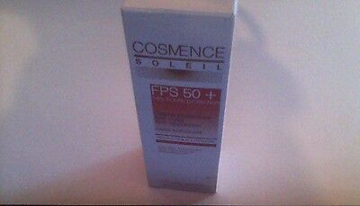 Crème Protectrice Anti-Rides Anti-Apparition Fps 50+ Cosmence Neuf Sous Boite