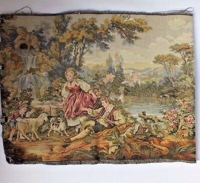 Very large and long country themed tapestry