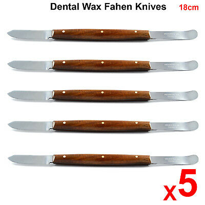 Fahen Knife 18cm Wax & Modeling Spatula Pottery Dental Laboratory Mixing Tool X5