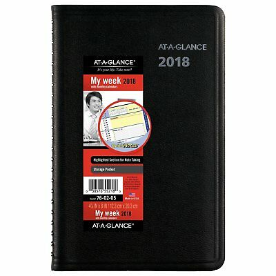AT-A-GLANCE Weekly / Monthly Appointment Book / Planner, Jan 2018 - Dec (760205)