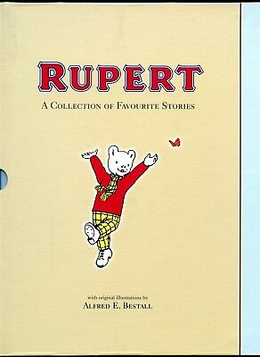 Rupert: A Collection of Favourite Stories. Slipcased and Hardcover. 1st Edition