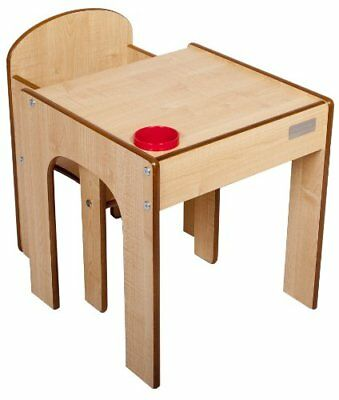 Little Helper - Set Tavolo in Legno con Sedia FunStation Originale e (z4G)