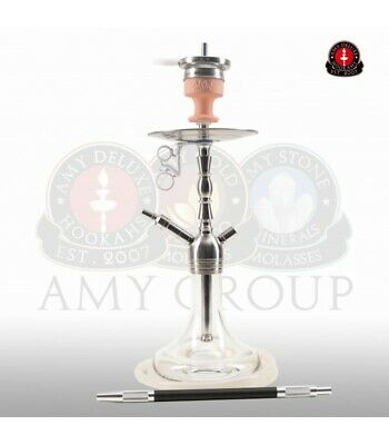 AMY Deluxe Shisha Little Hammer SS10 - clear (transparent) | Edelstahl Hookah