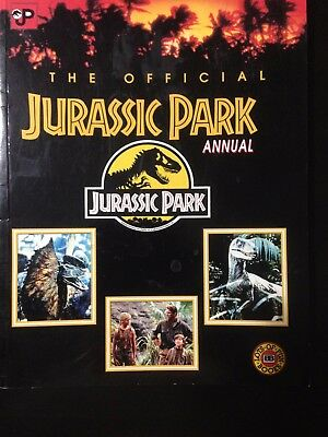 The official Jurassic Park annual