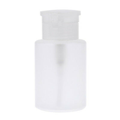 Refillable Nail Polish Remover Bottles Container Nail Empty Pump Dispenser L7X9