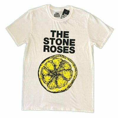 Stone Roses Lemon Unisex Official Tee Shirt Brand New Various Sizes