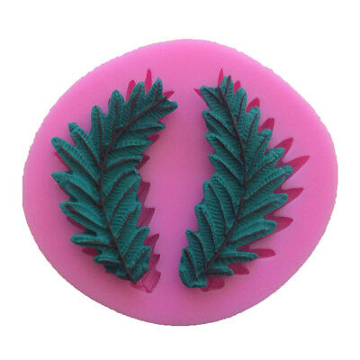 Olive Branch Silicone Cake Mould Fondant Sugar Craft Chocolate Decorate Tool DIY