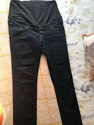 H&M Skinny Overbump Maternity Jeans Size 12