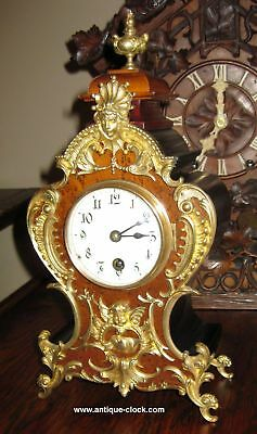 Lenzkirch model 142 time only table clock