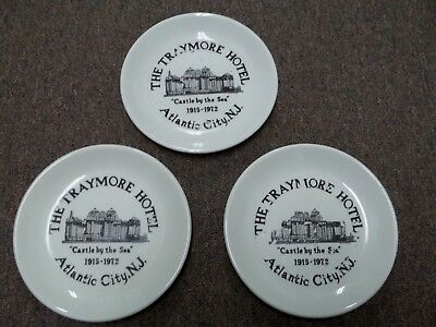 Vintage Homer Laughlin China PlateTraymore Hotel Atlantic City NJ 7 in wide