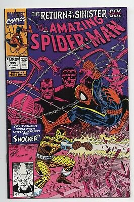 Marvel Comics The Amazing Spider-Man #335 Return of The Sinister Six Copper Age