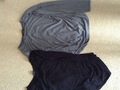 2 X maternity tops size 10-12