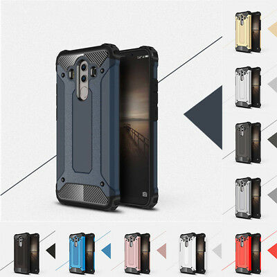 For Huawei Mate 10 /10 Pro Shockproof Hybrid Armor Rubber Phone Back Case Cover