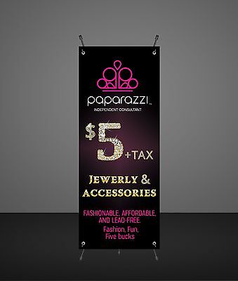 Paparazzi Accessories Banner - Vendor Show - Printed