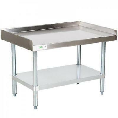 "30"" x 36"" Stainless Steel Commercial Restaurant Kitchen Equipment Stand"
