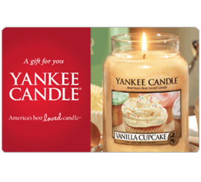 $50 Yankee Candle® Gift Card for only $40 - Email delivery