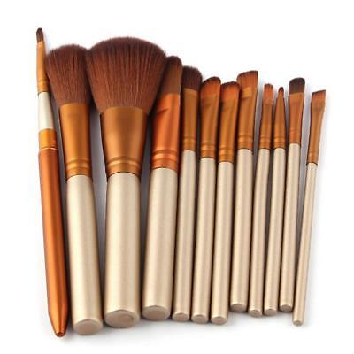 12pcs Professional Makeup Brush Kabuki Brushes Set Powder Foundation Blusher·Neu