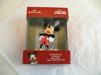 Mickey Mouse Clubhouse Mickey Mouse Christmas Tree Decoration in Box Hallmark