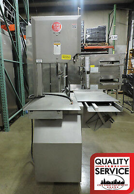 """Biro 3334FH (Fixed Head) 16"""" Food Processing Commercial Deli Meat Band Saw"""