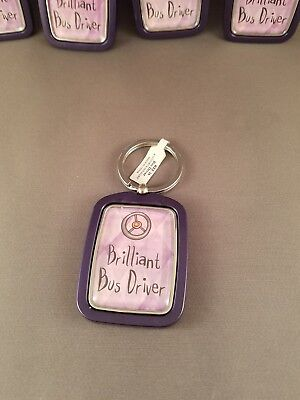 Bus driver key chain, birthday, gift, holidays