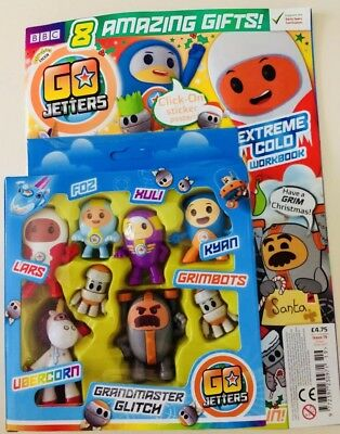 Go Jetters Magazine #19 - Amazing Free Gifts! (New)
