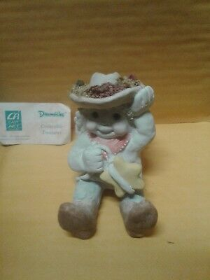 Dreamsicles Cowboy Sugarfoot #DC167 Signed Kristin '91