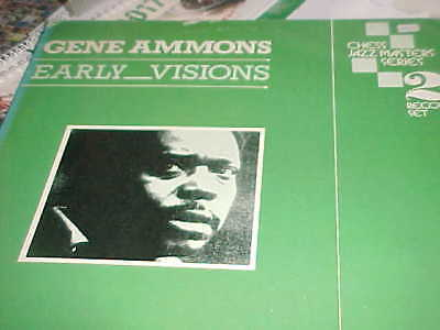 """GENE AMMONS: """"Early Visions"""" CHESS/UK/2LP"""